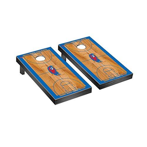 Massachusetts Lowell UMASS River Hawks Cornhole Game Set Basketball Court Version