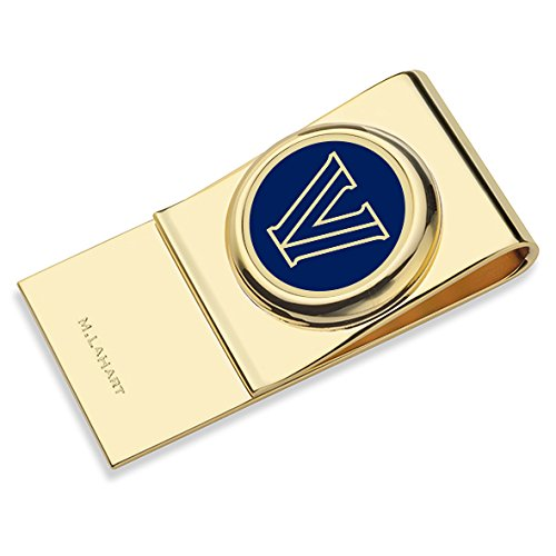 Villanova University Enamel Money Clip by M. LaHart