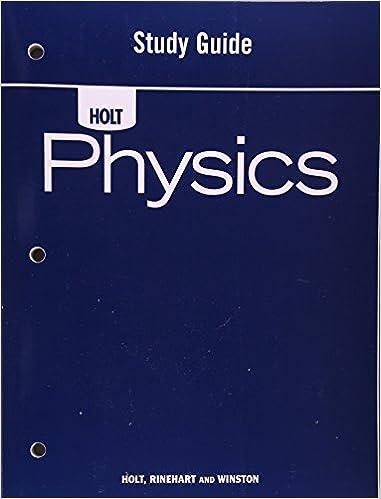 Amazon holt physics study guide 9780030368264 rinehart and holt physics study guide study guide edition fandeluxe Images