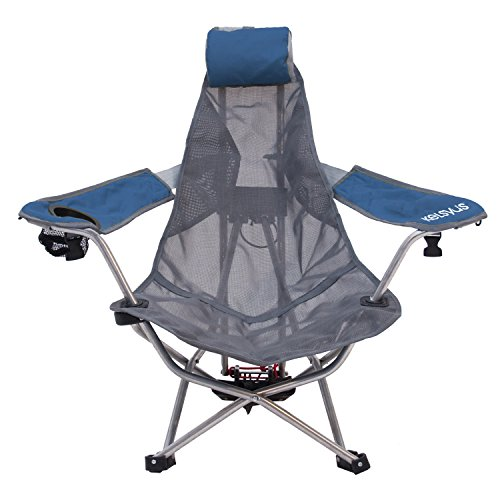 (Kelsyus Mesh Backpack Chair - Portable Chair for Camping, Tailgates, and Outdoor Events)