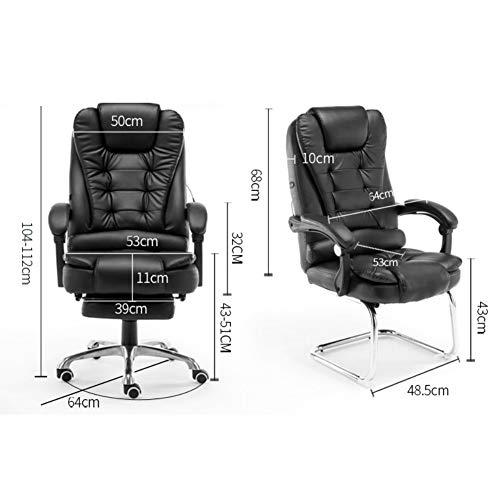 Amazon.com: MC.PIG Massage Office Fauteuil Sedia Ufficio Sillones ...