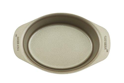 (Excelity Non Stick Cake Mold Cheese Toast Baking Pan (Mini Oval))