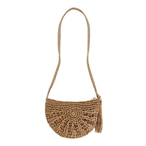 Crochet Drawstring Purse - 8