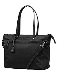 Travelpro PATHWAYS Laptop Tote, Black, Under Seat (Model:TP22211009)