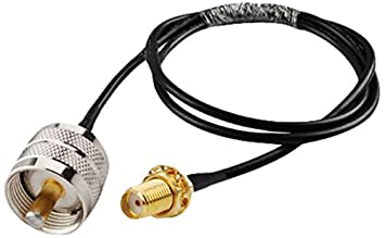 MPD Digital Coaxial RF Cable de Hembra SMA a UHF PL259 Macho portátil/Funda para a Base Antena 10 m RG-58 coaxial Jumper: Times Microwave: Amazon.es: ...