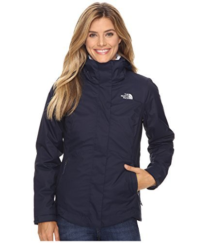 The North Face Mossbud Swirl Triclimate Jacket Women's Cosmic Blue Large The North Face Insulated Coat