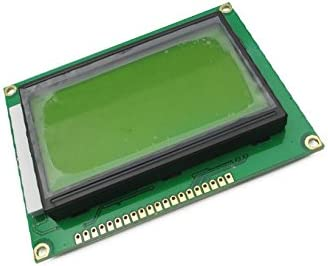 Quickbuying 10 pcs NEW ST7920 5V 12864 128x64 Dots Graphic LCD Yellow green Backlight