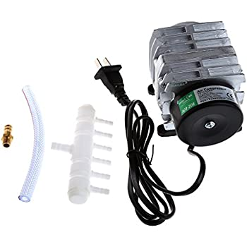 BCHZ 45L/min Electromagnetic Air Compressor Aquarium Oxygen Pond Air Pump Aerator 25W