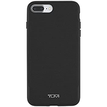 finest selection 9ef9f 14c3a TUMI Coated Canvas Co-Mold Case for iPhone 8 Plus & iPhone 7 Plus - Black  Coated Canvas