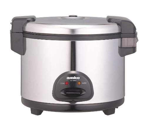 Amko Ak-50rc 30 Cups Electric Rice Cooker and Warmer by AMKO
