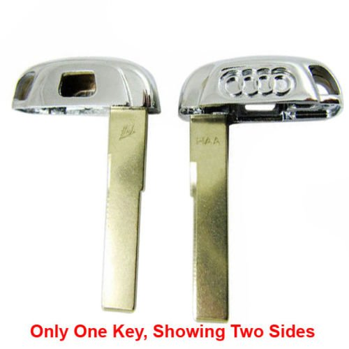 Audi Key Blanks (New Smart Key Replacement Uncut Emergency Blade Blank Key For Audi)