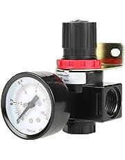 1pc BR4000 G1 / 2 Regulador de la Presión del Compresor de Control de Aire, 0.05~1MPa Ajustable,Válvula Reguladora con Puerto