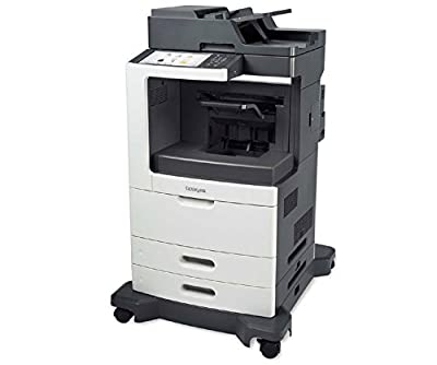 Lexmark MX810DFE Laser Multifunction Printer - Monochrome - Copier/Fax/Printer/Scanner - 1200 x 1200 dpi Print - Duplex Print - Gigabit Ethernet - USB