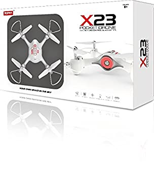 PROMOHOBBY Drone SYMA X23, emisora 2.4ghz, 4CH, 6-Axis, despegue ...