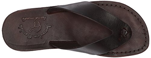 Sandali Gerusalemme Mens Sandalo Solomon Slide Brown