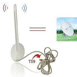ESUMIC? 16dbi 3G & 4G TS9 External Antenna Signal Booster Huawei E586 E5332 E5776 E392 E589 E398 E8278