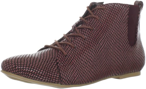 C Label Women's Emmah-16 Ankle Boot,Burgundy,5.5 M US