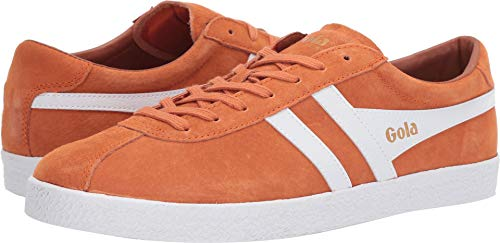 Gola Men's Trainer Suede Moody Orange/White 9 D ()
