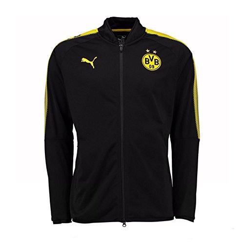 2017-2018 Borussia Dortmund Puma Poly Jacket (Black)
