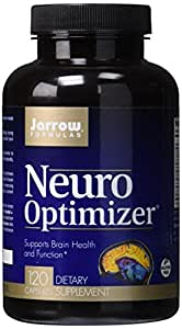 Jarrow Formulas Neuro Optimizer, Supports Brain Health and Function, 120 Caps