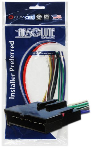 Absolute USA H594/1770 Radio Wiring Harness for Ford/Linc...