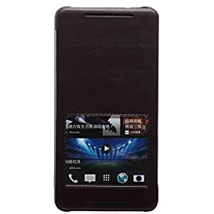 Gris Oscuro Funda Case y Protector de Pantalla y Polvo Limpieza Film y Stylus Pen Para HTC ONE MAX 8088 KALAIDENG KD00138