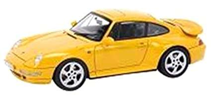 Schuco 1/43 Porsche 911 (993) Turbo Speed Yellow (japan import)