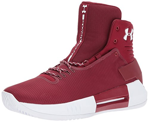 low priced e78f1 fa289 Under Armour Men s Team Drive 4 Basketball Shoe, (606) Cardinal, ...