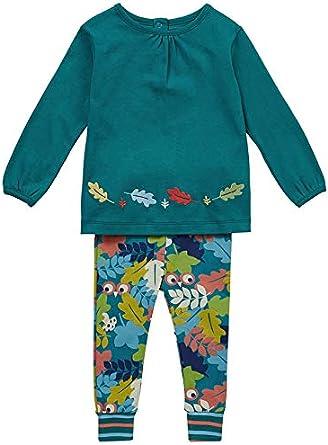 Piccalilly Conjunto de Ropa de Dos Piezas, túnica Verde Azulado ...