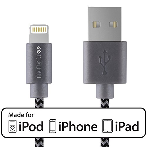 Cheap Lightning Cables Lightning to USB Cable [Apple MFi Certified] - iCASEIT Quick Charge &..