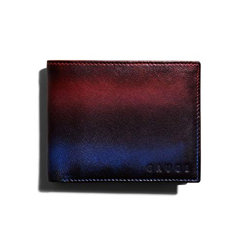 Gauge Machine Multi Brown Leather Wallets / GMWL0121015MBR