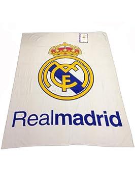 Toalla del REAL MADRID de 150x200cm, 100% algodón . Producto Oficial .