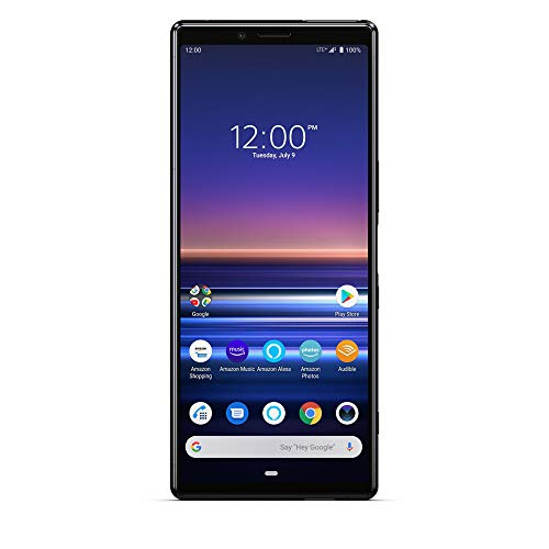 Sony Xperia 1 with Alexa Hands-Free - Unlocked Smartphone - 128GB - Black - (US Warranty) in 6.5