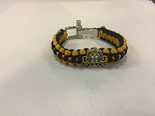 Greek Fraternity (Alpha Phi Alpha Fraternity Paracord Survival Sphinx Bracelet With Adjustable)