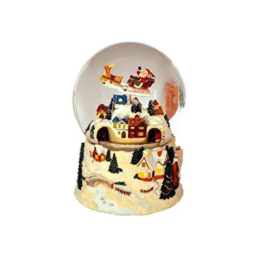 FX Music Box Creative Fashion Birthday Present Children's Day Gift Crystal Ball Christmas Tree for $<!--$102.24-->