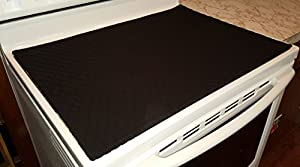 glass stove top cook top cover u0026 protector black