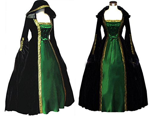 COSTY (Green Medieval Dress)