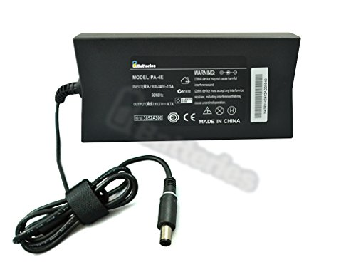 UBatteries Slim Power Adapter Charger Dell Inspiron M501 N2768 0N2768 ON2768 N560J 0N560J ON560J N566J 0N566J ON566J 330-4280 330-4281 - 130W, 19.5V