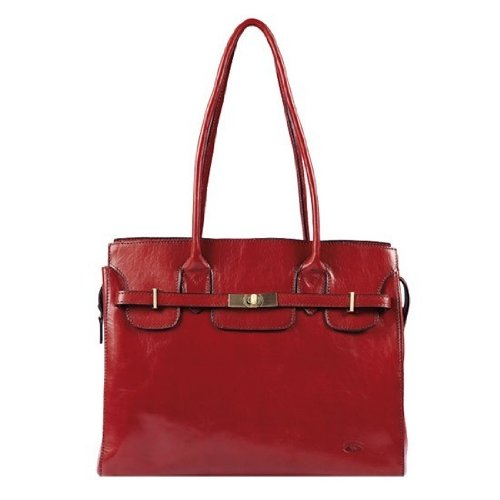 Katana shopping de collet en 82529 Vachette cuir Rouge K Sac 5w5Iqxr