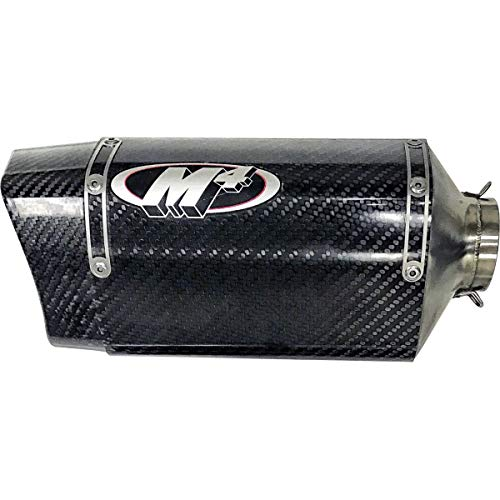 (M4 17-18 Suzuki GSXR1000 Carbon Tech 1 Slip-On Exhaust (Carbon Fiber) )