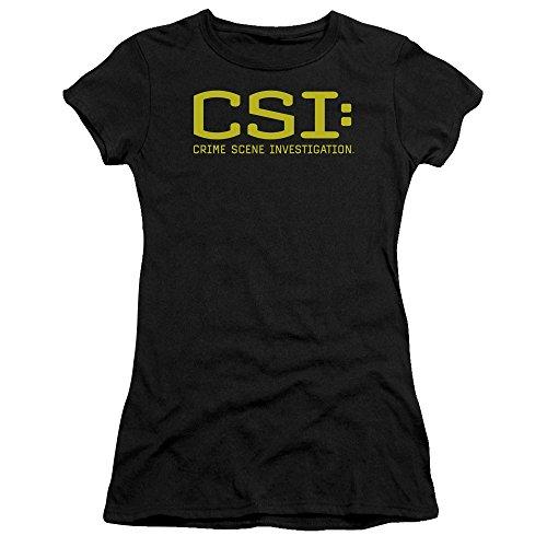 Csi Logo T Black Pour shirt Femmes Bella Premium Avec rr1xqF