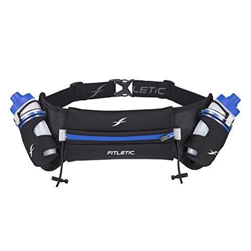 Fitletic Belt Water Bottle HD08 S/M Black & Blue