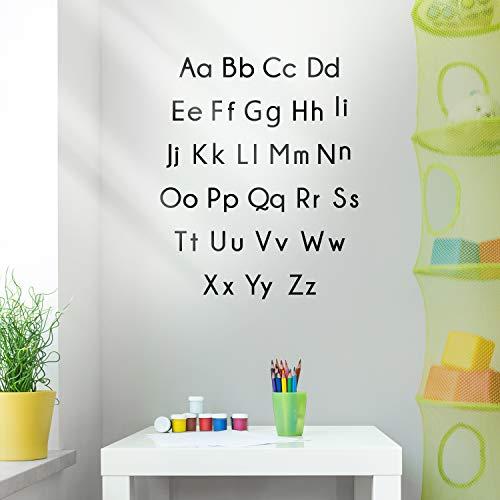Vinyl Wall Art Decal - Set of Abc's Alphabet Letters - 27.5