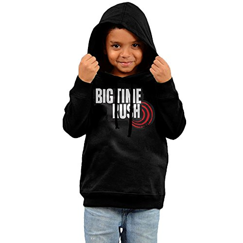 Price comparison product image 2016 Big Time Rush Sweatshirts Black Hoodies Lightweight For Your Kids