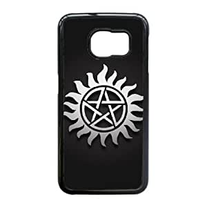 Samsung Galaxy S6 Edge Cell Phone Case Black Supernatural F6696948
