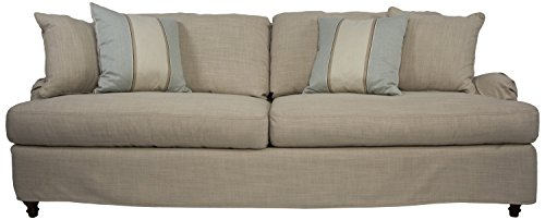 Sunset Trading Seacoast Slipcovered Sofa, Linen