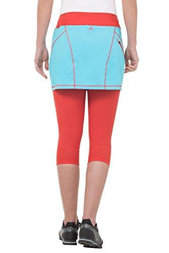 VAUDE Rock Women's Scopi Skirt - Falda para mujer Turquesa (Bay)