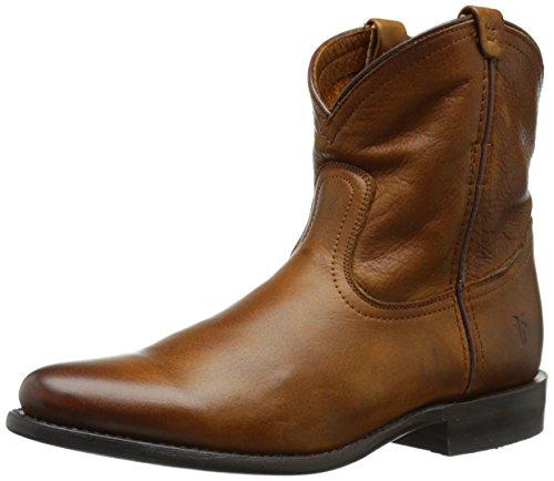 FRYE Women's Wyatt Short Western Boot,  Cognac, 7 M (Frye Wyatt Boot)