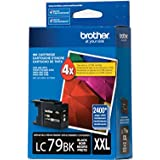 Brother Printer LC-79BK Super High Yield (XXL) Cartridge Ink - Retail Packaging-Black