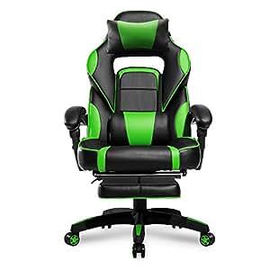 Amazon Com Merax High Back Racing Home Office Chair